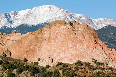 Photograph - Pikes Peak by Steve Krull
