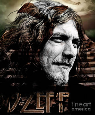 Robert Plant Collection Art Print
