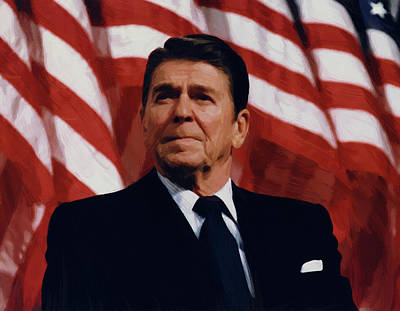 Ronald Reagan Digital Art - Ronald Reagan by Ronald Reagan