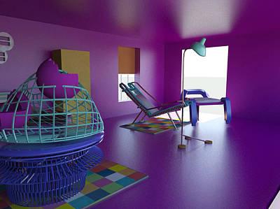 Painting - Room by Bogdan Floridana Oana