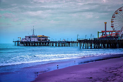 Photograph - Santa Monica Pier Collection- 5/36 by Gene Parks