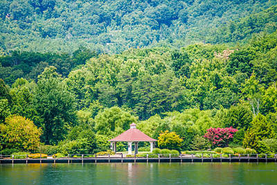 Scenery Around Lake Lure North Carolina Art Print by Alex Grichenko