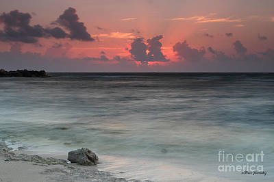 Sea Scape Sunrise Art Print