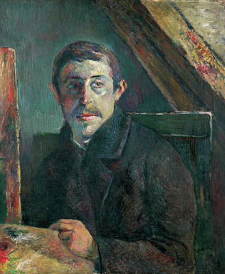 Self Shot Painting - Self-portrait by Paul Gauguin