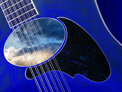 Photograph - 12 String Blues by Gill Billington