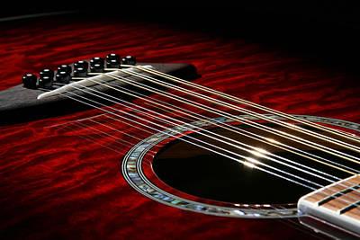 Photograph - 12 String Guitar by John Clark