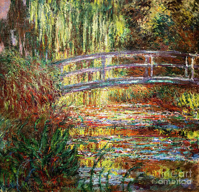 Painting - The Water Lily Pond by Claude Monet
