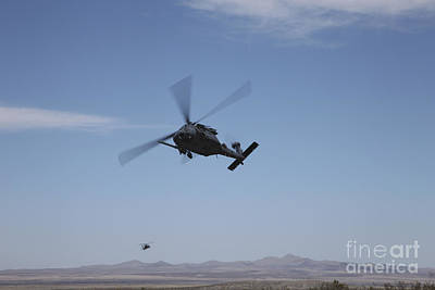 Classic Christmas Movies Royalty Free Images - U.s. Air Foce Hh-60g Pave Hawk Royalty-Free Image by Terry Moore