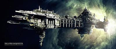 Skyline Digital Art - Video Game by Maye Loeser