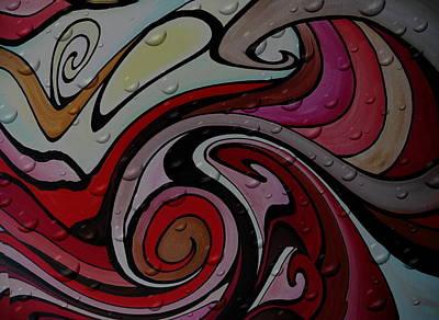 Surfing Painting - Waves by Pristine Cartera Turkus