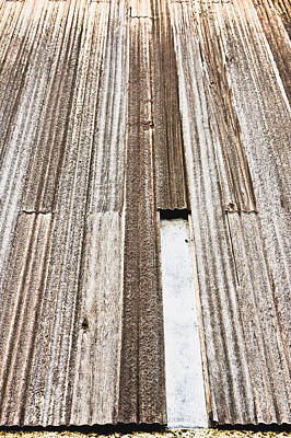 Defects Photograph - Wooden Panels by Tom Gowanlock