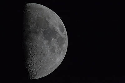 Photograph - 1200mm Moon by Digiblocks Photography
