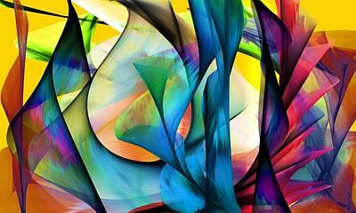 Digital Art - 120117 Abstract by David Lane