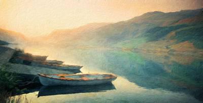 Sea Painting - Nature Landscape Oil by Margaret J Rocha