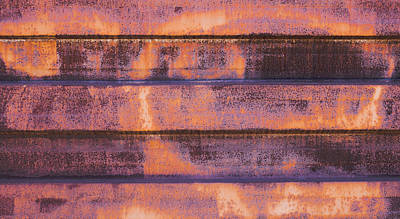 Photograph - Rust Wall 2 by Mark Holcomb