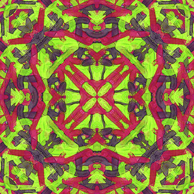 Digital Art - Untitled -a- Soup -pattern- by Coded Images