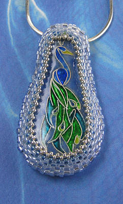 Jewelry - 1226 Peacock by Dianne Brooks