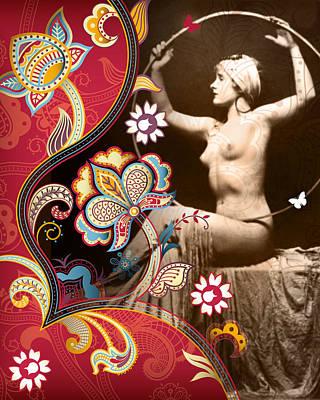 Bra Mixed Media - Goddess by Chris Andruskiewicz