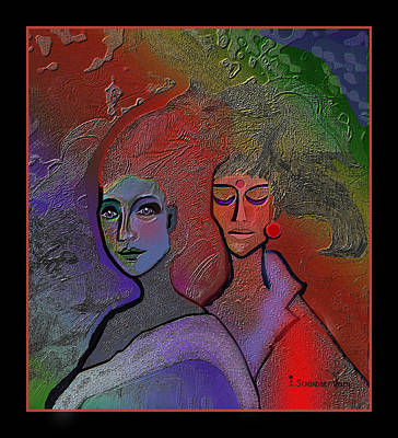 Digital Art - 1249 Great Appearance 2017 by Irmgard Schoendorf Welch