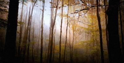 Field Painting - Nature Art Original Landscape Paintings by Margaret J Rocha