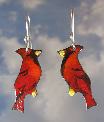 Jewelry - 1253 Cardinal by Dianne Brooks