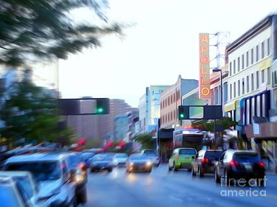 125th Street Harlem Nyc Art Print by Ed Weidman