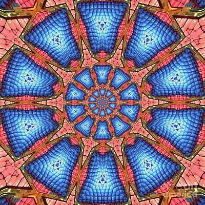 Background Digital Art - Unique Design Pattern by Amy Cicconi