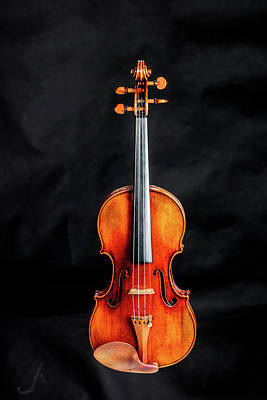 Photograph - 127 .1841 Violin By Jean Baptiste Vuillaume by M K Miller
