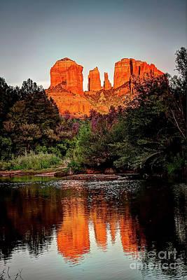 Namaste With Pixels Royalty Free Images - 1278 Sedona Arizona Royalty-Free Image by Steve Sturgill