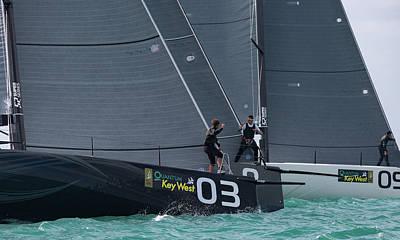 Keith Richards - Key West Race Week by Steven Lapkin