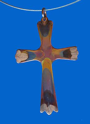 Jewelry - 1282b Cross by Dianne Brooks