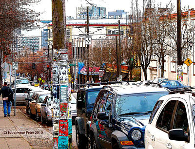 12th And Pike St. Capitol Hill Art Print