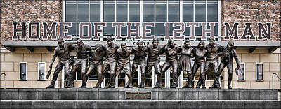 Sports Royalty-Free and Rights-Managed Images - 12th Man by Stephen Stookey