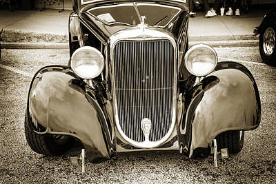 Photograph - 1933 Dodge Vintage Classic Car Automobile Photograph Fine Art Pr by M K  Miller