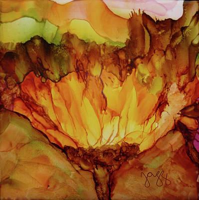 Jazz Art Painting - 13-a Flower by Jazz Art
