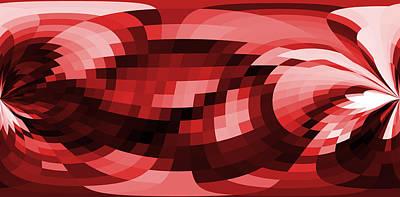 Abstract Seascape Mixed Media - Abstract - Shreem by Sir Josef - Social Critic -  Maha Art