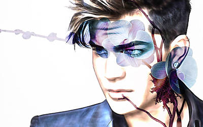 Adam Lambert Collection Art Print
