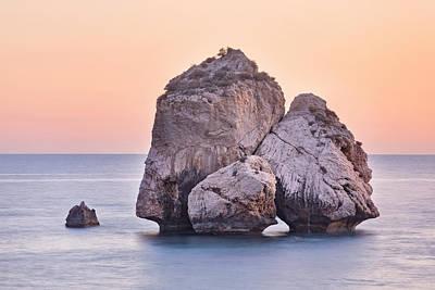 Petra Photograph - Aphrodite's Rock - Cyprus by Joana Kruse