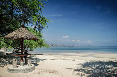 Photograph - Areia Branca Tropical Beach View Near Dili In East Timor by Jacek Malipan