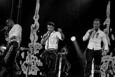 Photograph - Boyzone  by Jenny Potter