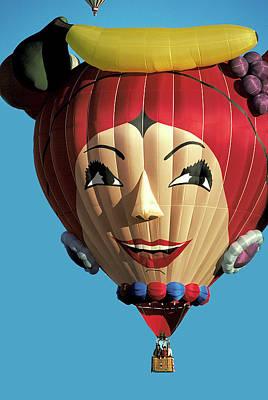Photograph - Carmen Miranda Balloon In Albuquerque by Carl Purcell