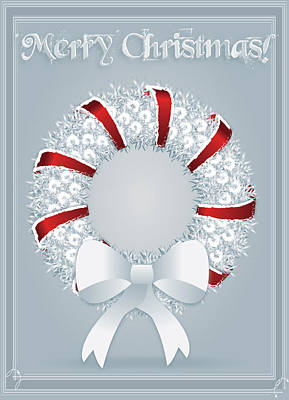 Digital Art - Christmas Greeting Card by Serena King