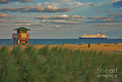 Art Print featuring the photograph 13- Cruising In Paradise by Joseph Keane