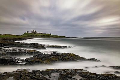 Photograph - Dunstanburgh Castle by David Pringle