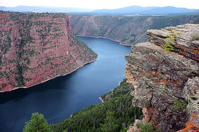 Flaming Gorge National Park Art Print by Ellen Tully