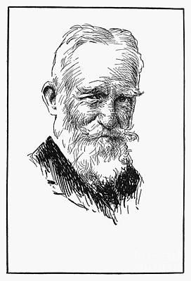 Sturges Photograph - George Bernard Shaw by Granger