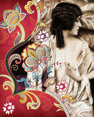 Goddess Art Print by Chris Andruskiewicz