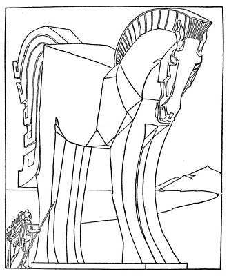 Homer: The Iliad Art Print
