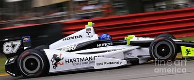 Will Power Photograph - Pro Indycar Racing by Douglas Sacha