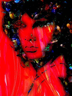Rock N Roll Mixed Media - Jim Morrison Collection by Marvin Blaine
